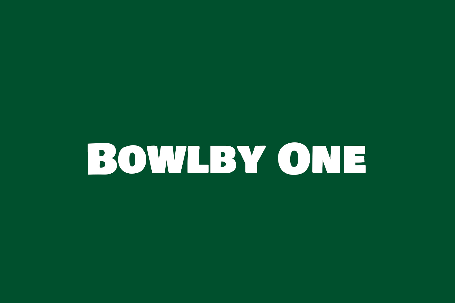 Bowlby One