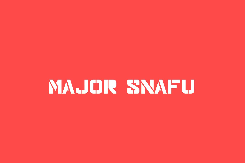 Major Snafu