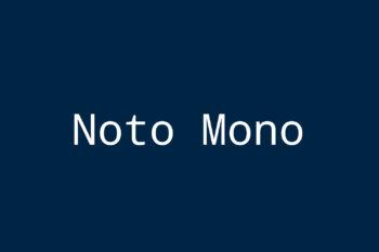 Noto Mono