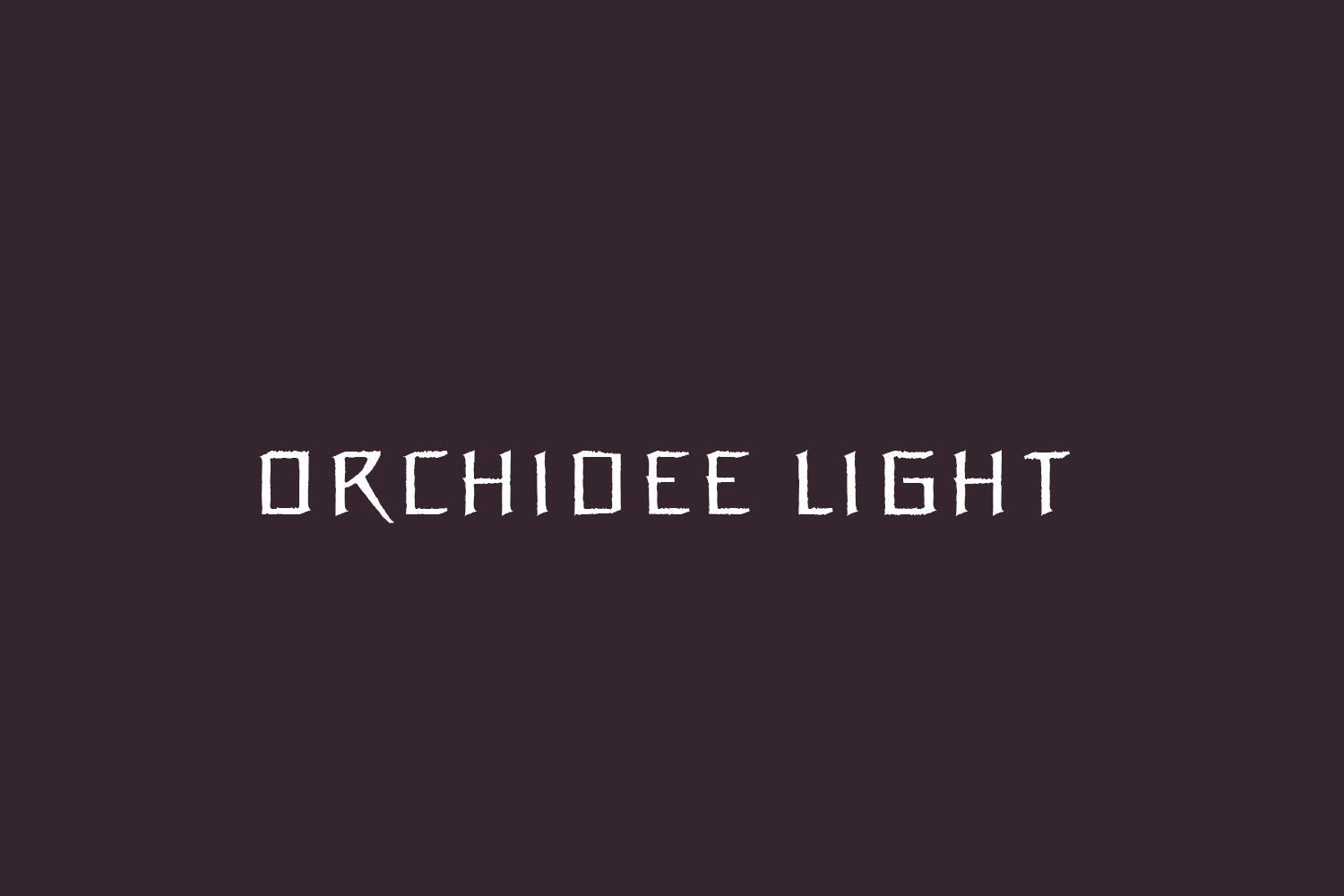 Orchidee Light