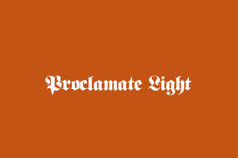 Proclamate Light