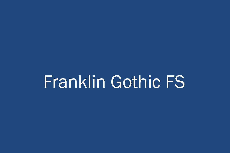 Franklin Gothic FS