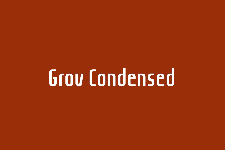 Grov Condensed