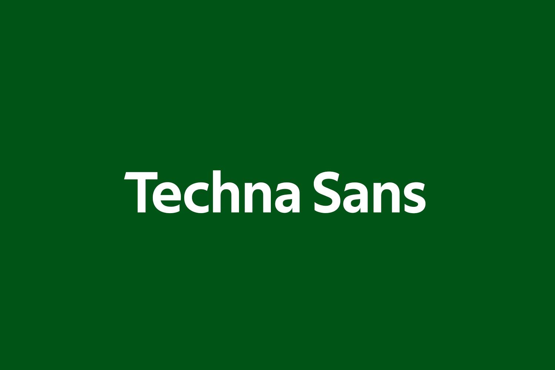 Techna Sans