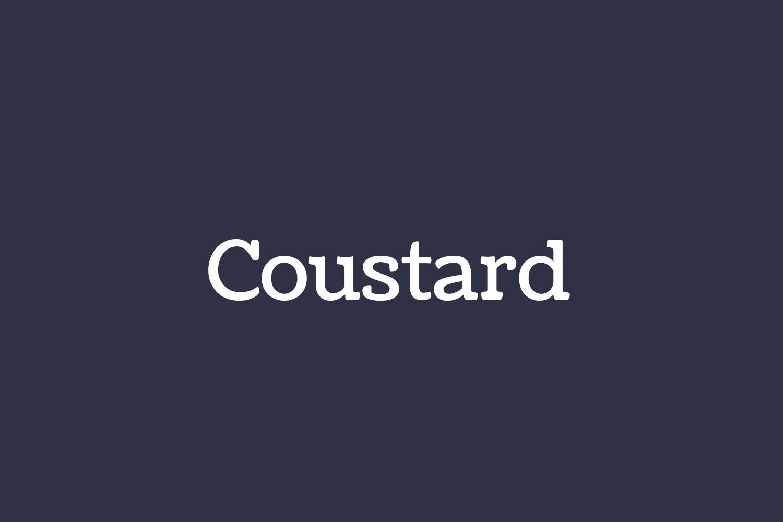 Coustard