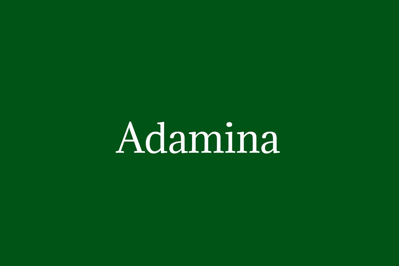 Adamina