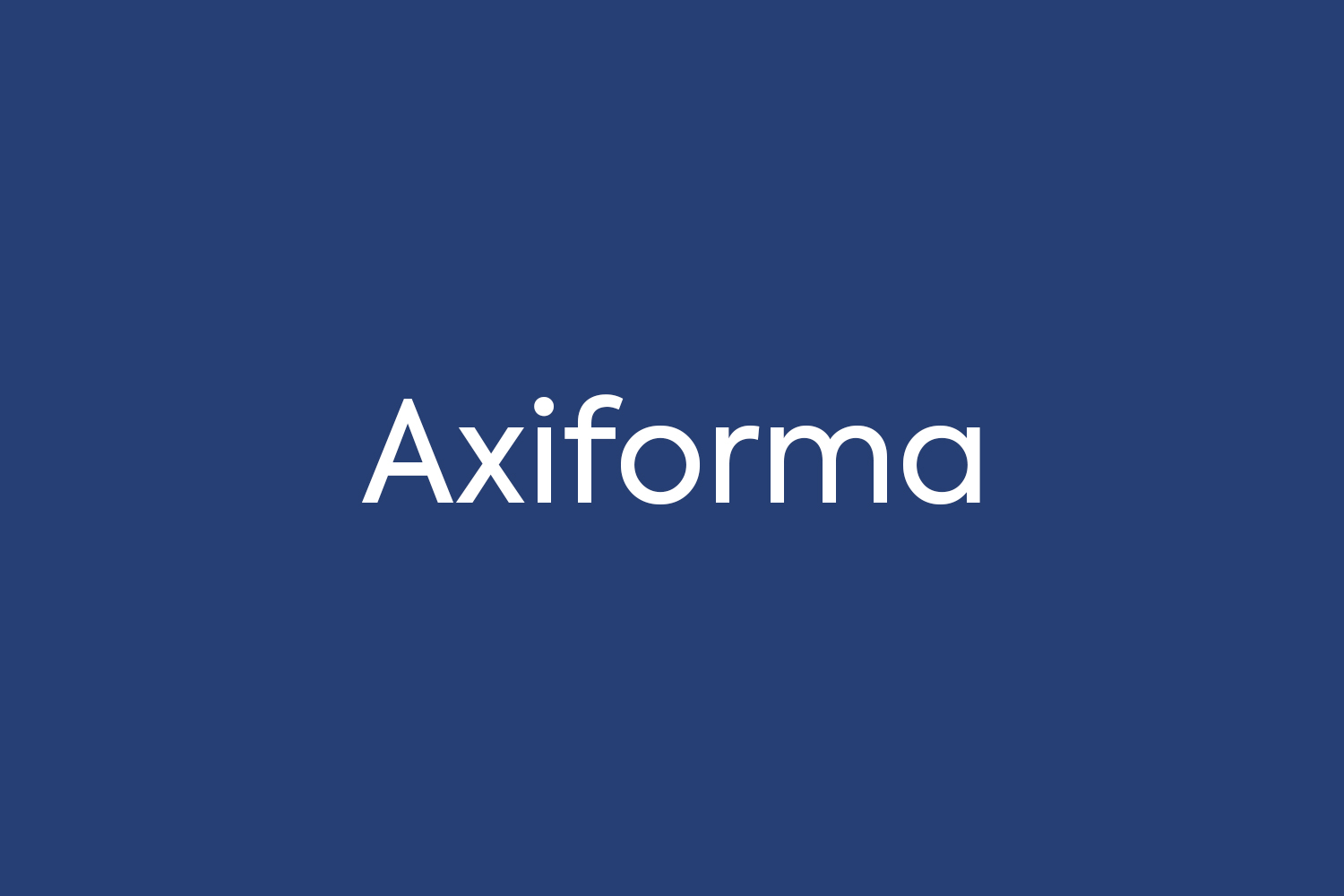 Axiforma Free Font
