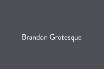 Brandon Grotesque
