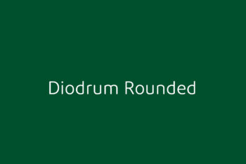 Diodrum Rounded