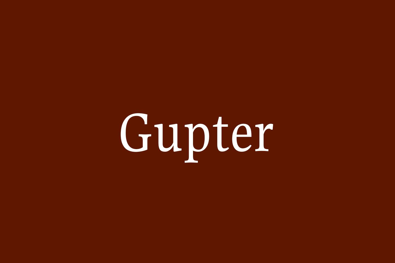Gupter