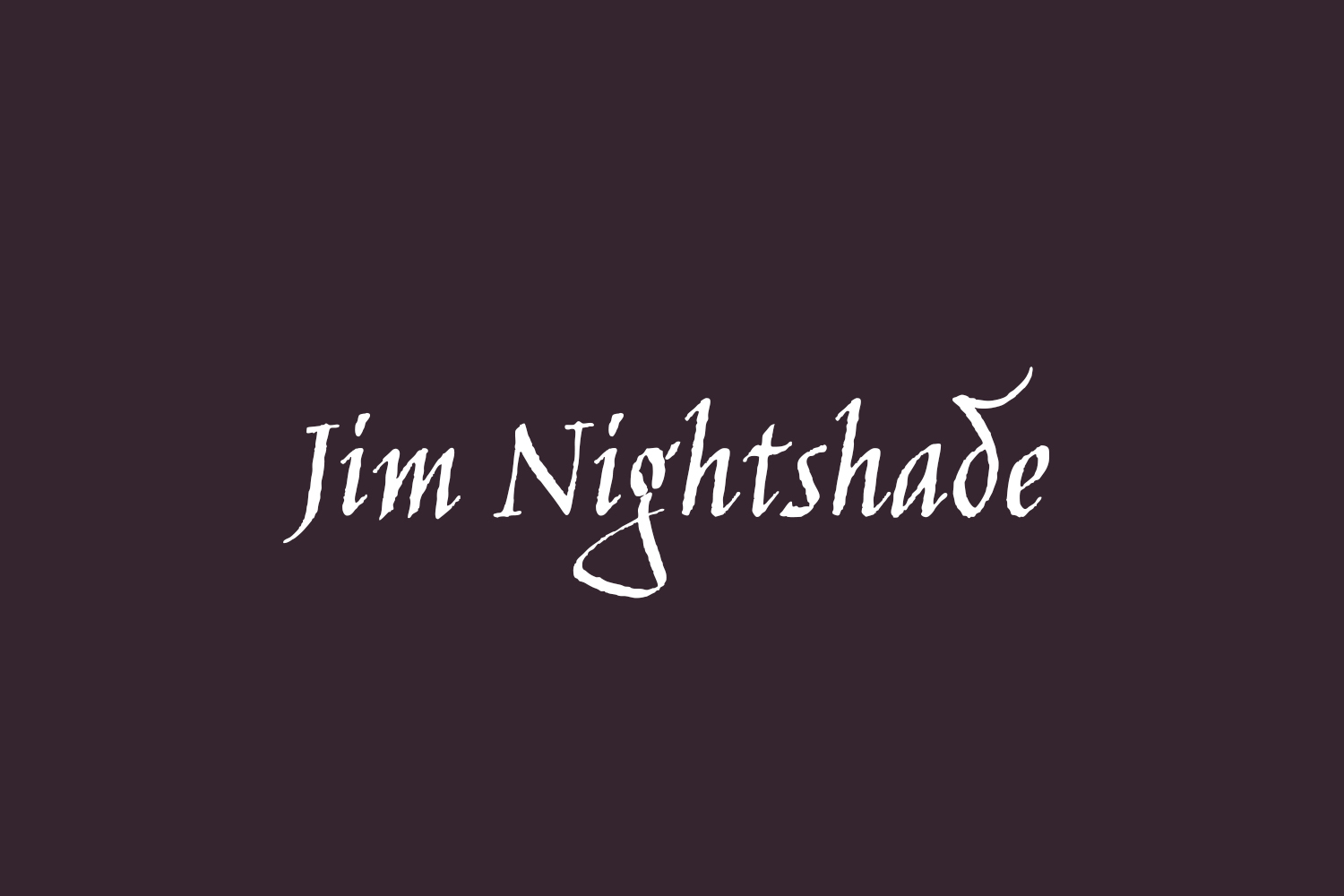 Jim Nightshade