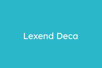Lexend Deca