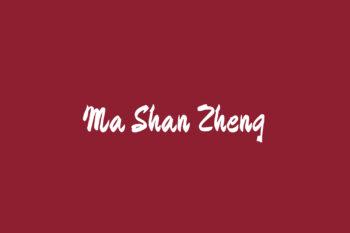Ma Shan Zheng
