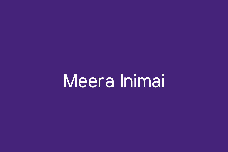 Meera Inimai