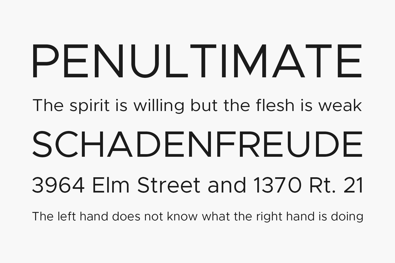 Axiforma Free Font