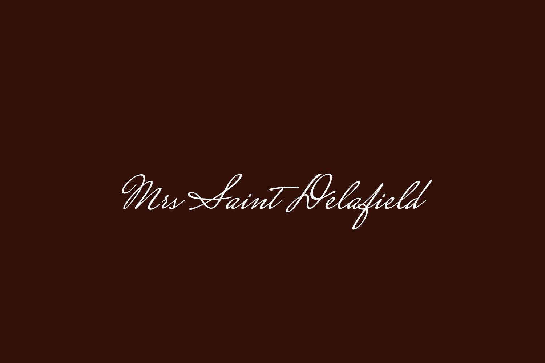 Mrs Saint Delafield