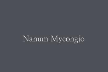 Nanum Myeongjo