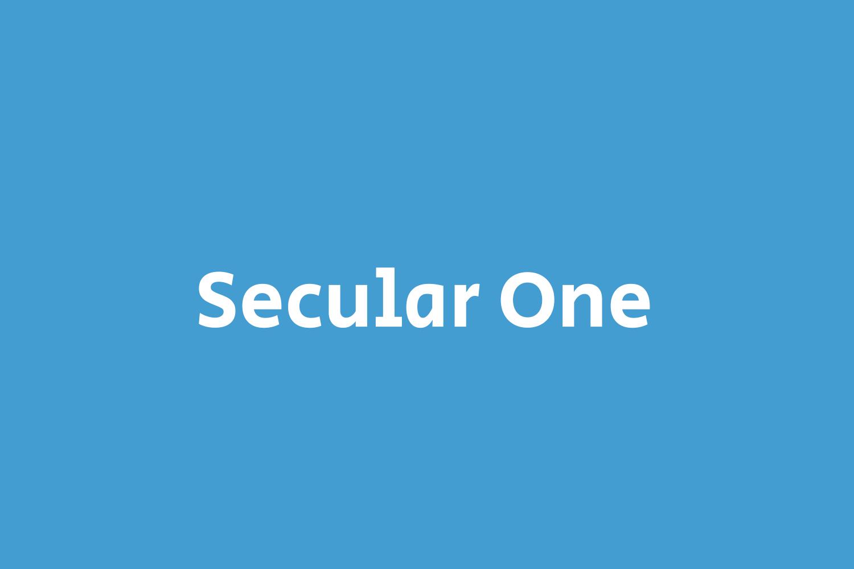 Secular One