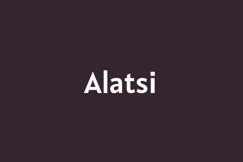 Alatsi