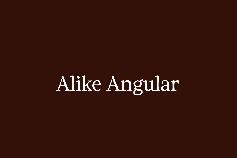 Alike Angular