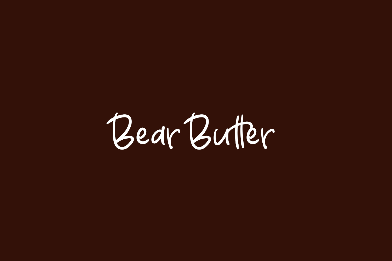 bear-butter