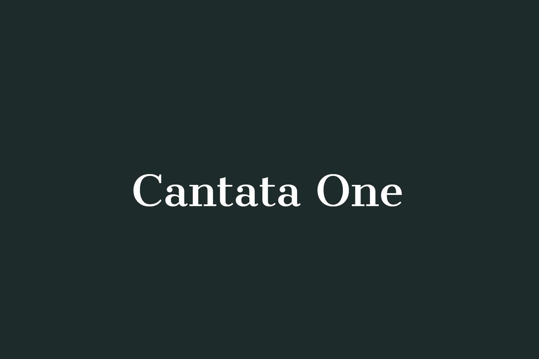 Cantata One