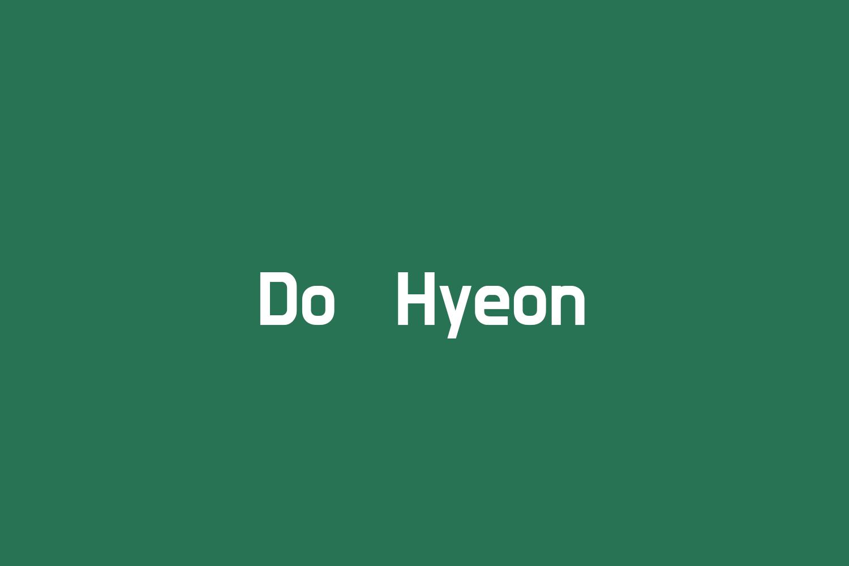 Do Hyeon