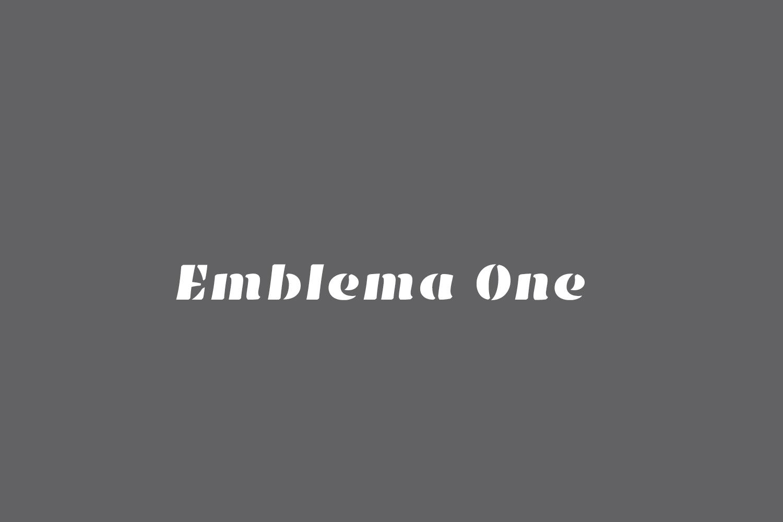 Emblema One