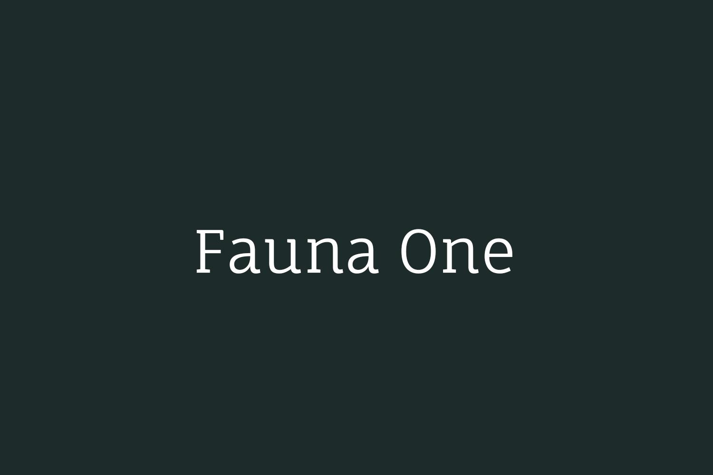 Fauna One