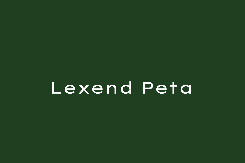 Lexend Peta