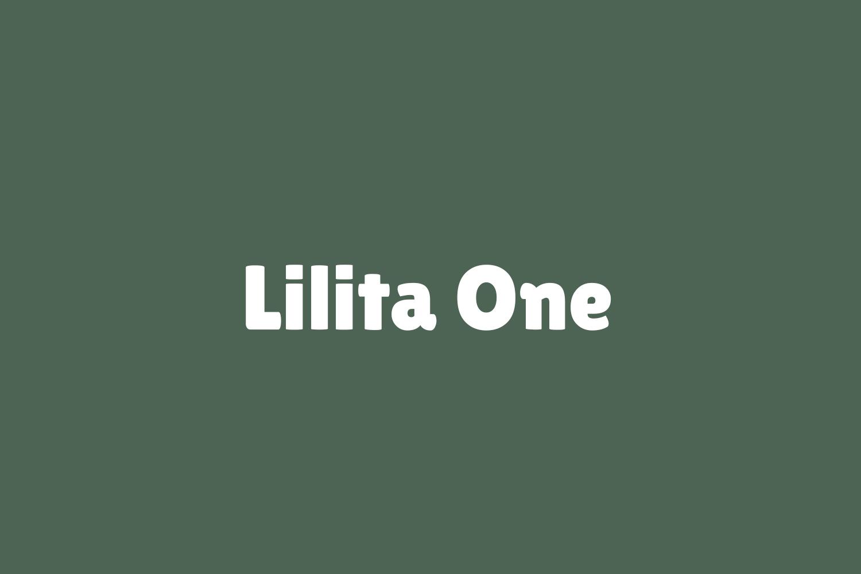 Lilita One