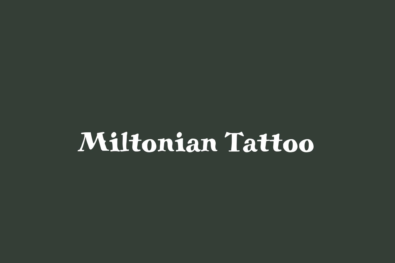 Miltonian Tattoo
