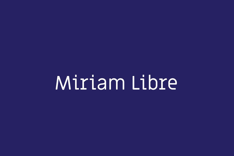Miriam Libre