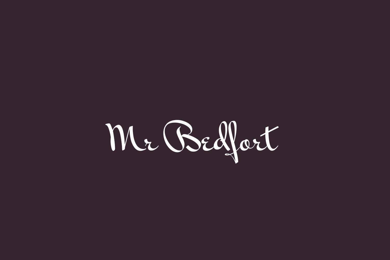 Mr Bedfort