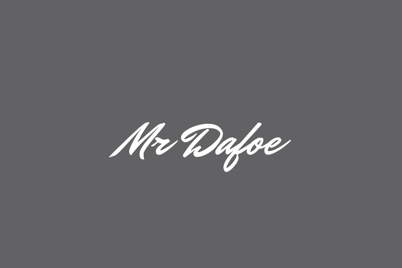 Mr Dafoe