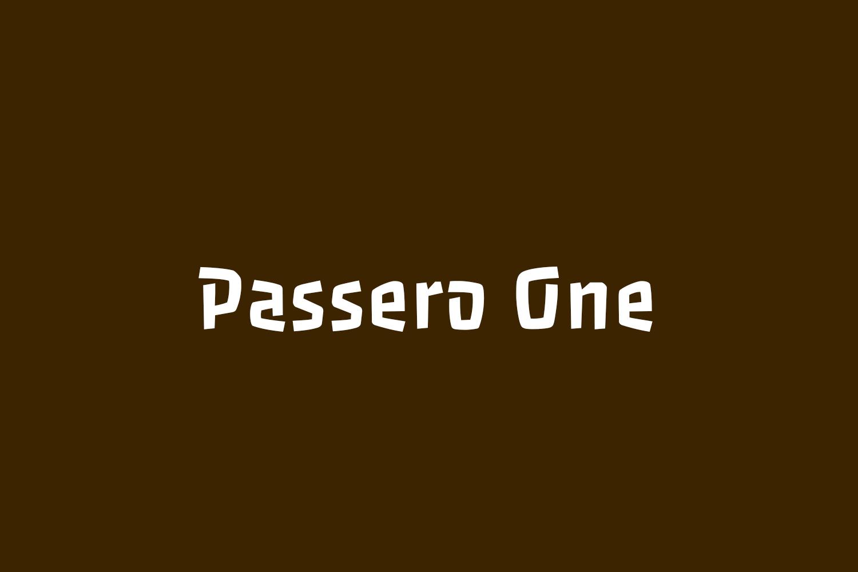 Passero One