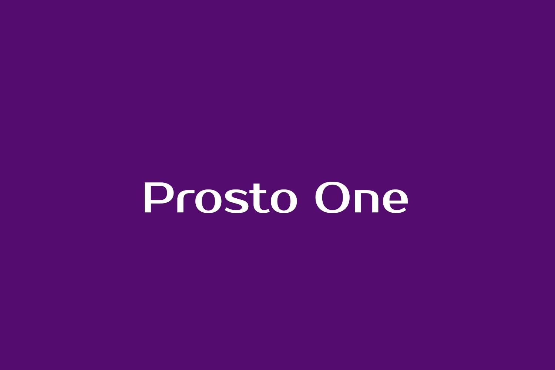 Prosto One