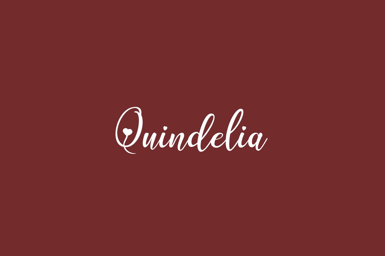 Quindelia