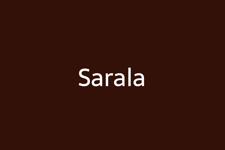 Sarala