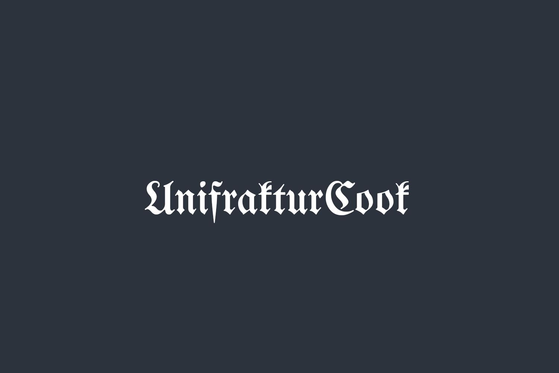 UnifrakturCook