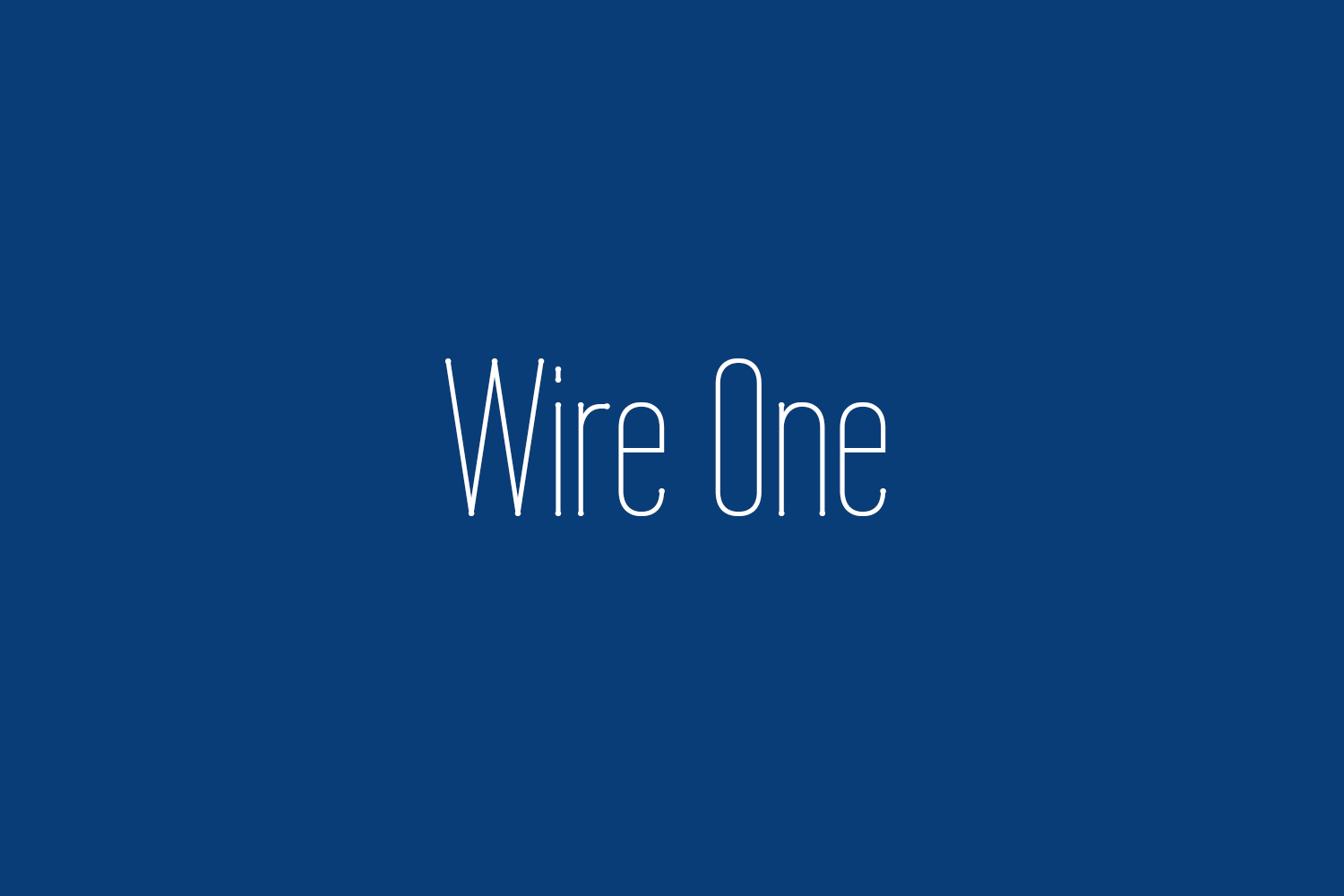 Wire One