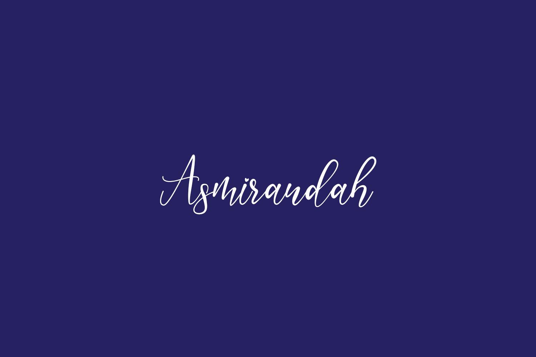 Asmirandah