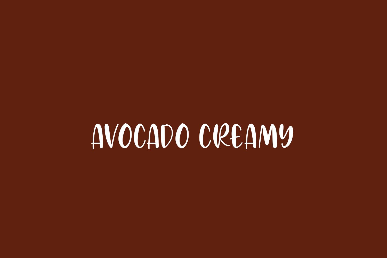 Avocado Creamy