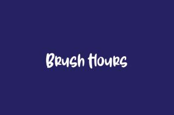 Brush Hours
