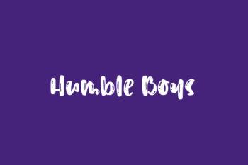 Humble Boys