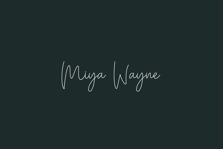Miya Wayne