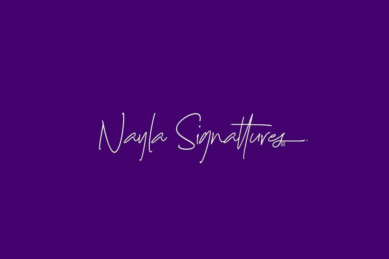 Nayla Signattures