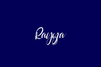 Rayya