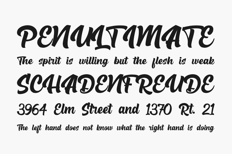 The Rughton Script