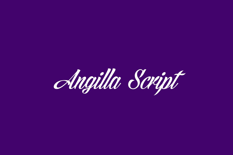 Angilla Script